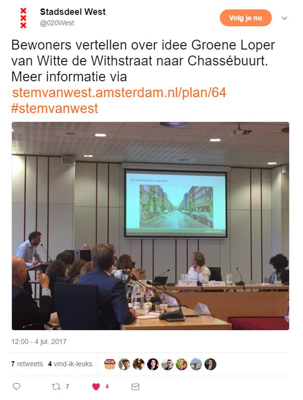 2017-07-05 21_57_07-Stadsdeel West op Twitter_ _Bewoners vertellen over idee Groene Loper van Witte